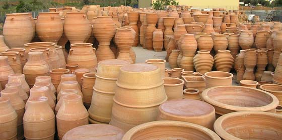 A huge range of pots to choose from